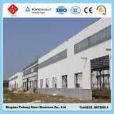 Modèle d'entrepôt de structure de bâti en acier en métal de bâti de lumière d'exportation de la Chine
