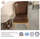 Chaise en bois massif moderne du restaurant meubles (YB-LC401)