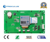 7 inches of TFT LCD with Rtp/P Cap Touch Screen+Ttl/RS232