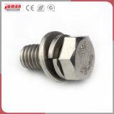 Écrou d'insertion ronde écologique les raccords de compression en laiton de métal