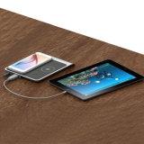 Pista de carga sin hilos dual de Qi para el iPhone 8 y Samsung S8 Sametime
