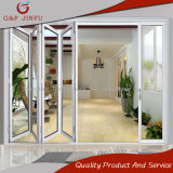 Aluminio y puertas exteriores BI-Plegables de cristal del interior de la puerta