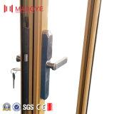 Portello di alluminio con la serratura codificata per la residenza