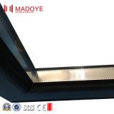 Milieu Open Design Double vitrage porte pliante en aluminium