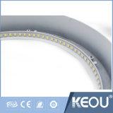Ce/RoHS Commercial/Indoor 2700K-6500K 18W LED ronde éclairage du panneau de plafond