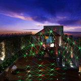 Luz laser del jardín de la Navidad con el partido para el día de fiesta Decorantion