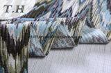 Tessuto del jacquard della tappezzeria il tessuto del sofà del reticolo del dente di sega (FTH32138)