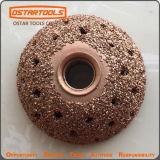Outil voûté de réparation de pneu de carbure de râpe de forme