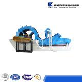 Моющее машинаа шахты с Dewatering экраном