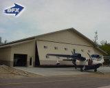 Heißer Verkaufs-Stahlkonstruktion-Rahmen-Träger-vorfabriziertes Flugzeug-Hangar-Lager