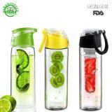 2018 новых продуктов тритан фрукты Infuser пластиковую бутылку воды