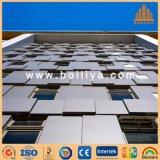 Matériau de construction en aluminium de mur de modèle en métal d'en cuivre de zinc décoratif d'acier inoxydable