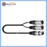 Splitser van de Adapter van de Kabel van de microfoon Y de Audio