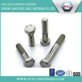 Boulons d'hexa de l'acier inoxydable A2/A4
