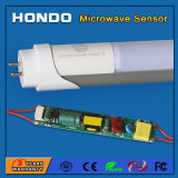 Garage, Hallway, Basement를 위한 중국 Manufacturer Microwave Motion Detector Sensor 1200mm 4FT 18W LED Tube Light