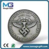 Het hete Verkoop Aangepaste Antieke Zilveren Muntstuk van het Metaal