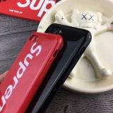 Pleins Supreme de mode protègent le cas de téléphone mobile pour l'iPhone 7 8 positifs