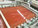 磨かれた赤いTravertineの床タイル及び平板