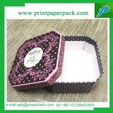 Rectángulo de papel elegante de empaquetado del rectángulo del paño del regalo del papel de cubierta
