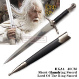 Senhor pequeno da espada de Aragorn do punhal Hka4 40cm do ofício de Gandalf Glamdring do anel