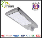 170lm/W luz de calle de la carretera LED 100W al aire libre, lámpara de calle solar barata de la luz de calle del LED LED con la aprobación de Ce& RoHS