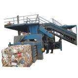 Гидравлический пресс-бумажных отходов в горизонтальной плоскости (HPM-50)