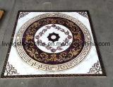 El círculo diseña el azulejo de suelo del rompecabezas para el hotel