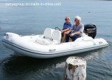 Barco inflable rígido de Liya los 4.3m con el bote patrulla del motor externo