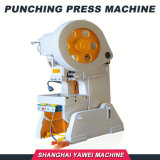 J23-16 Yawei tapa de aluminio perforado proa de la máquina de prensa