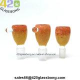 2018 Hotsell Recipientes de cristal de gama alta para fumar los tubos de agua / Vasos de precipitado de 14 mm/Conjunto de 18mm