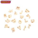 Diapositive 8 mm promotionnel DIY Letter Charms pour bracelet