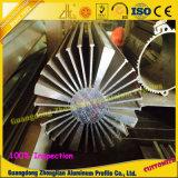 Profilo di alluminio dell'alluminio del dissipatore di calore dell'automobile LED di profilo di CNC