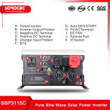 230VAC 5kw 48V gelijkstroom Met lage frekwentie aan AC de HulpOmschakelaar van de ZonneMacht