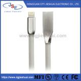 Mfi는 iPhone/iPad/iPod를 위한 빠른 책임 그리고 Sync 8pin 국수 편평한 번개 USB 케이블을 증명했다