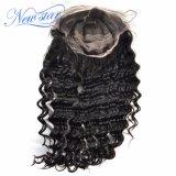 Парик шнурка оптовых популярных глубоких человеческих волос волны полный