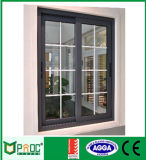 Окно индийского типа Pnoc080401ls сползая с конструкцией решетки