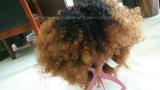 아프로 아프리카 소녀를 위한 꼬부라진 Synthentic 머리 가발