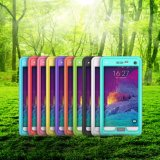 Вне аргументы за заплывания мобильного телефона клетки Samsung Note4 водоустойчивого франтовской
