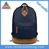 Vente chaude polyester bleu foncé unisexe Voyage Sac à dos pour ordinateur portable sacs d'école