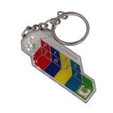 Fantasie kundenspezifischer Zink-Legierungs-Decklack Keychain mit Epoxy-Kleber