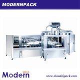3 dans 1 chaîne de production de rinicage de machine remplissante et recouvrante de pression/boisson non alcoolique