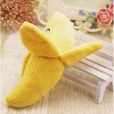 Jouets mignons de modèle de fruits de peluche de banane
