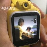 montre visuelle de téléphone de l'appel GPS d'appareil-photo des gosses 3G