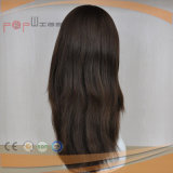 Parrucca piena di qualità del merletto di breve lunghezza (PPG-l-0807)