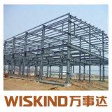 Wiskind Q235 Q345 à faible coût de l'entrepôt du châssis en acier préfabriqués