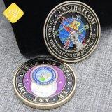 Eindeutiges kundenspezifisches Großhandelsmetallgedenkmünzen