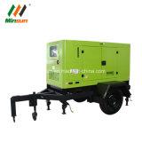 50kVA het Type van aanhangwagen met de Stille Generator van Yuchai van Wielen