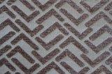 Chenille geométrico tela tecida (fth31929)