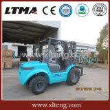 Prix de chariot élévateur de terrain accidenté de Ltma 3.5 tonnes tout le chariot élévateur de terrain