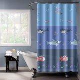 Водонепроницаемый чехол в ванной комнате есть душ PEVA шторки с магнитами для тяжелого режима работы